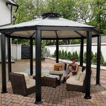 Gazebos Make Patio Social Destination