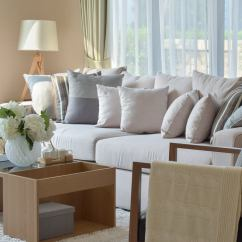 Living Rooms With Grey Couches Room Wood Burner 35 Sofa Throw Pillow Examples (sofa Décor Guide) - Home ...