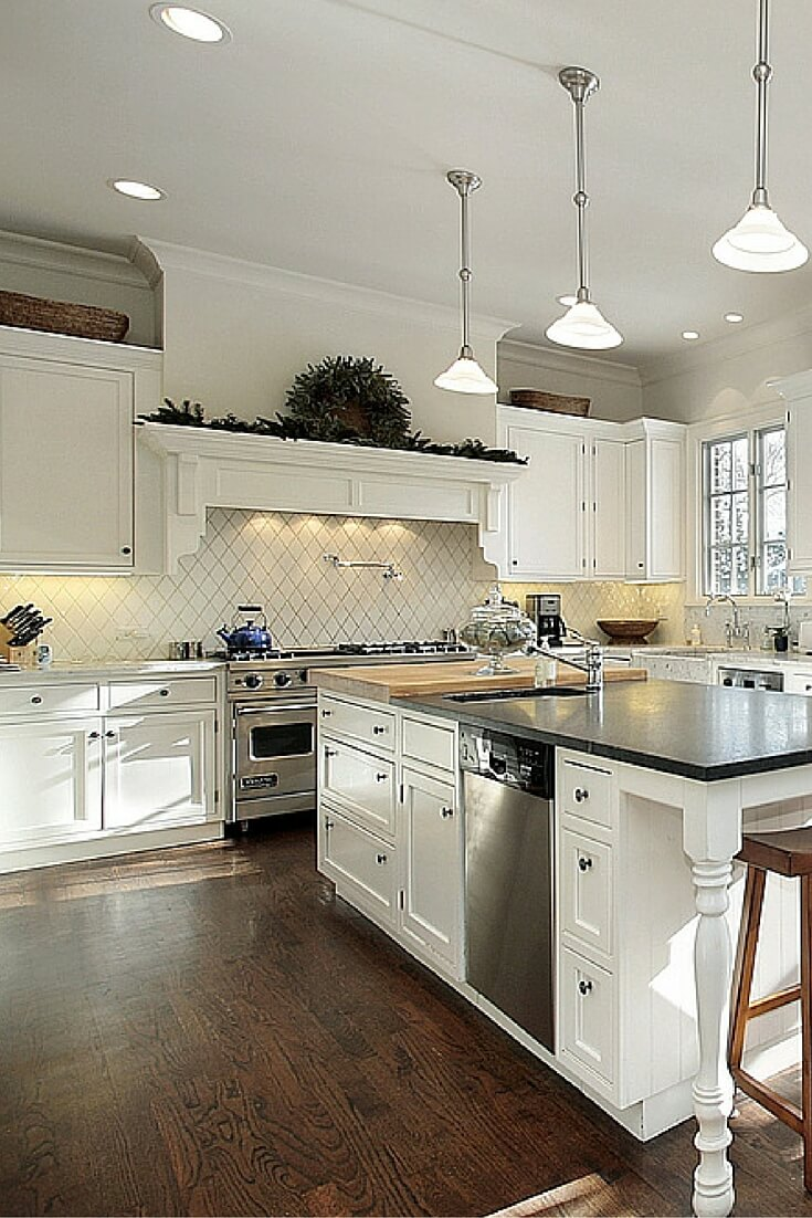 Above kitchen cabinets pinterest for Amazon kitchen cabinets