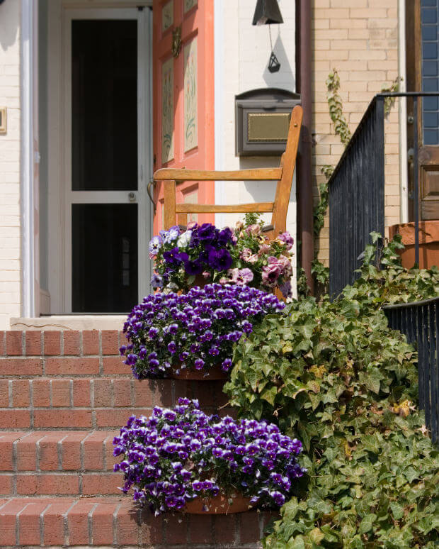 64 Outdoor Steps with Flower Planters and Pots Ideas ...