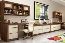 Home Office Built in Cabinet Design