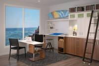 26 Home Office Designs (Desks & Shelving) by Closet Factory