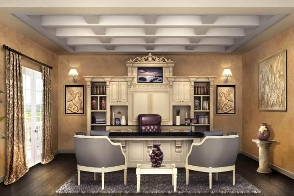 Home Office Design Desks & Shelving Closet Factory