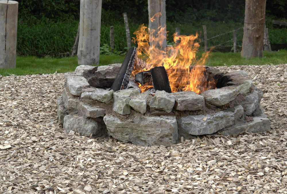 s backyard patio fire pit ideas