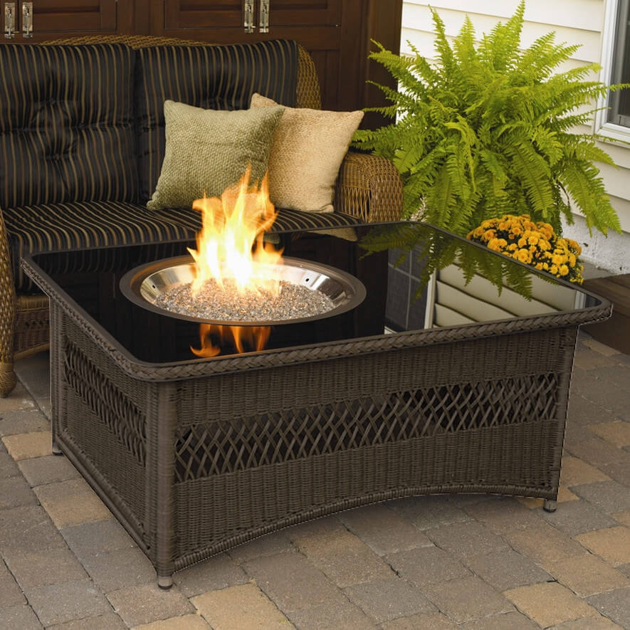 Backyard Gas Fire Pit