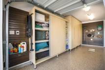 Garage Cabinet Storage Idea