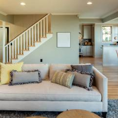 Green Living Room Walls Color Schemes Best Colors For 2019 Lighter Earth Tones Work Well In Open Rooms Such As The One Above