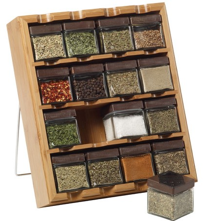 16-Cube Stand-Alone Spice Rack