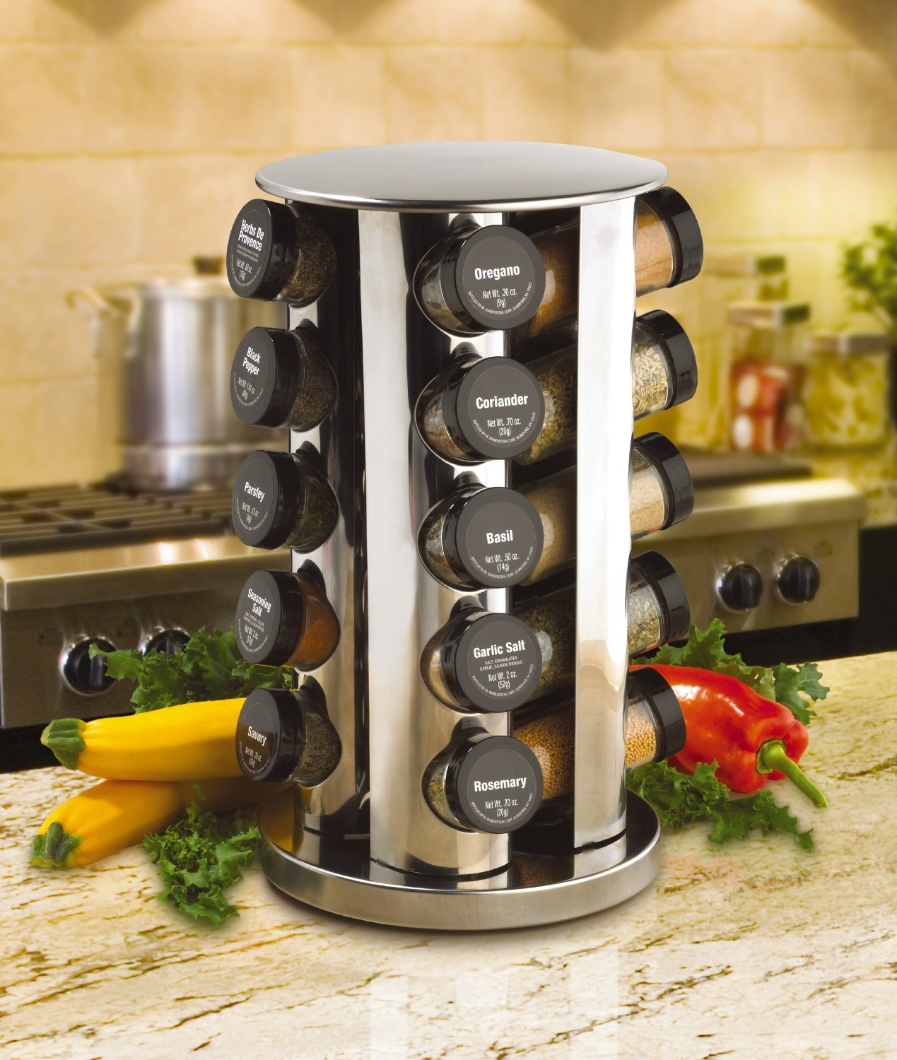 revolving spice racks for kitchen portable island with stools top 10 types of buying guide
