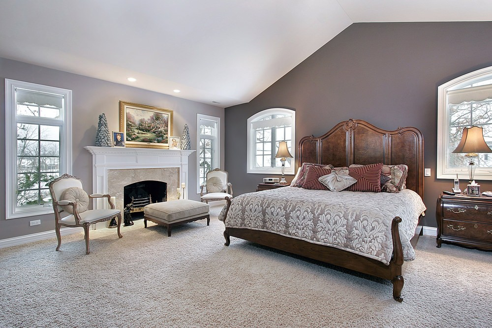 Master Bedrooms with a Sitting Area Sofa Chairs Chaise Lounge