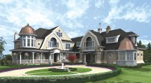 Shingle-style Homes Diverse Collection
