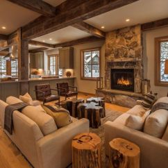 Living Room Decor Styles Hotels With 18 Types Of Pictures Examples For 2019 A Searing Hot Fireplace Gives Warmth To The Area While Wooden Furniture Is Attractive In Its