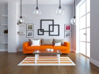 24 Orange Living Room Ideas and Designs (Wow)