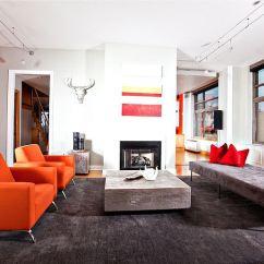 Custom Sofa Design Online New Side Table 25 Orange Living Room Ideas For %%currentyear$$