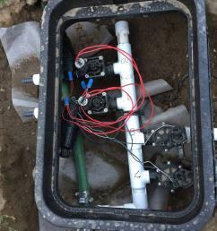 diy sprinkler system timer set up [ 1875 x 2500 Pixel ]