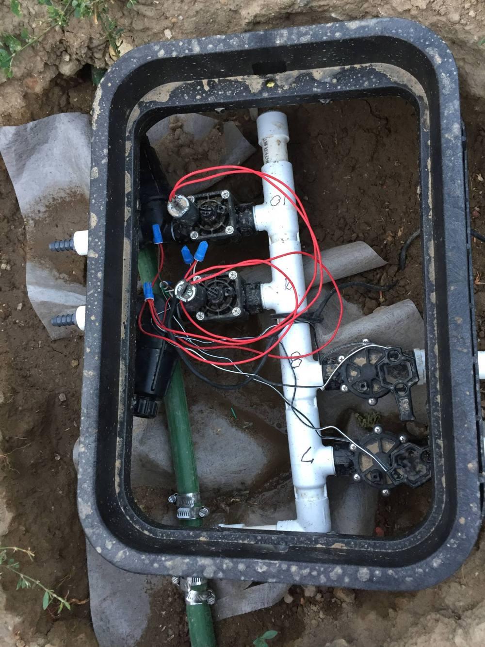medium resolution of diy sprinkler system timer set up