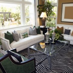 White Sofa Living Room Designs Colour Schemes For Rooms With Grey 72 Furniture Sofas And Chairs The Zebra Like Printing On Floor Rug Is Very Eye Catching Resting