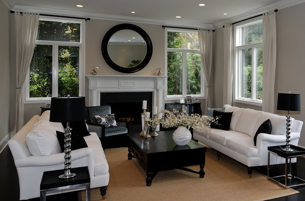 white sofa living room scandinavian teak furniture 72 rooms with sofas and chairs an elegant dominated by black where the set is paired