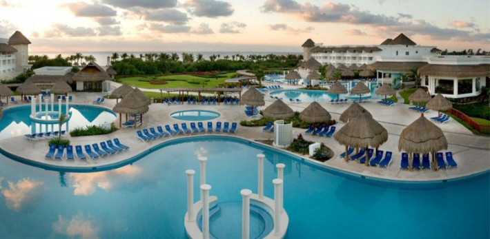 Resort Sunset Riviera Grand Maya All Princess Map Suite