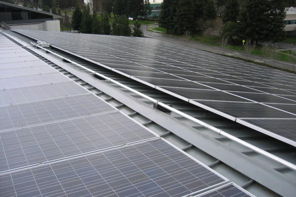 medium resolution of commercial rooftop solar panels