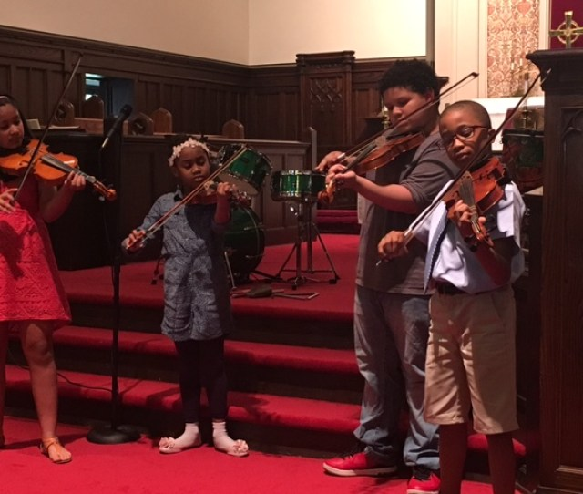 Joyful Noise Afterschool In Partnership With Parkside Lutheran Church And Community School Of Music Provides A Healthy Snack Homework Help