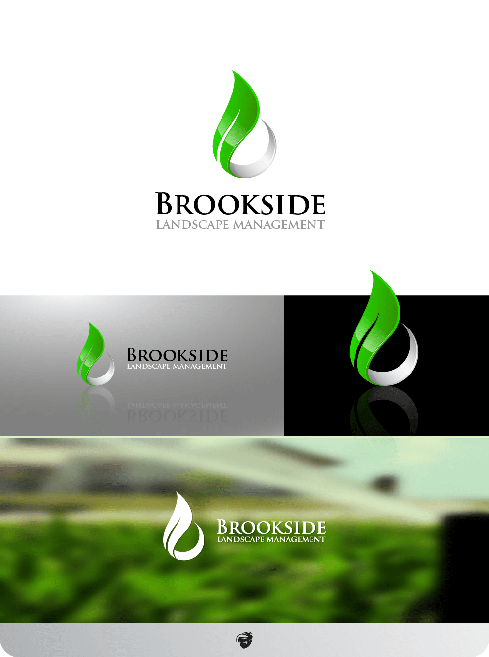 Logo Design Contests New Logo Design For Brookside Landscape