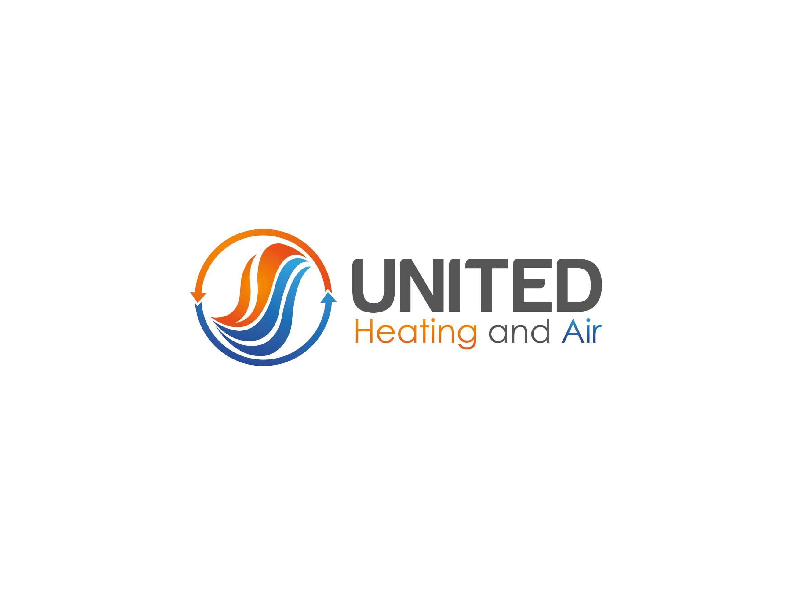 Logo Design Contests United Heating And Air Logo Design
