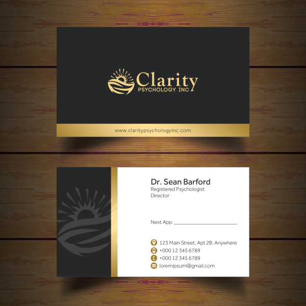 Business Card Design Contests Professional