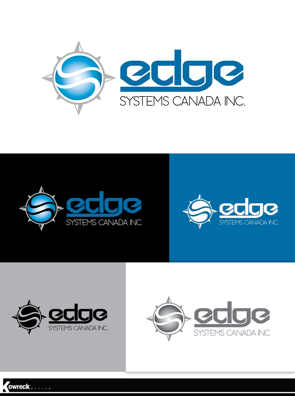New Logo Design For Edge Systems Canada Inc HiretheWorld