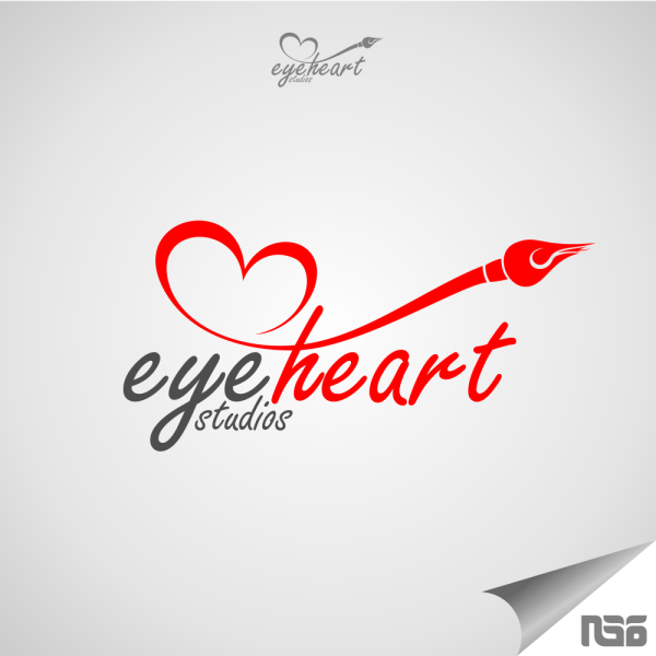 Lovely & Caring Heart Logo Design Inspiration In Ksa