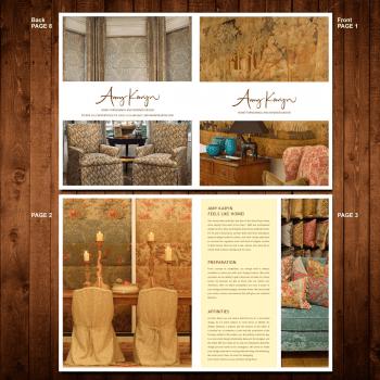 Print Design Contests Aquilon Software Brochure Page 1