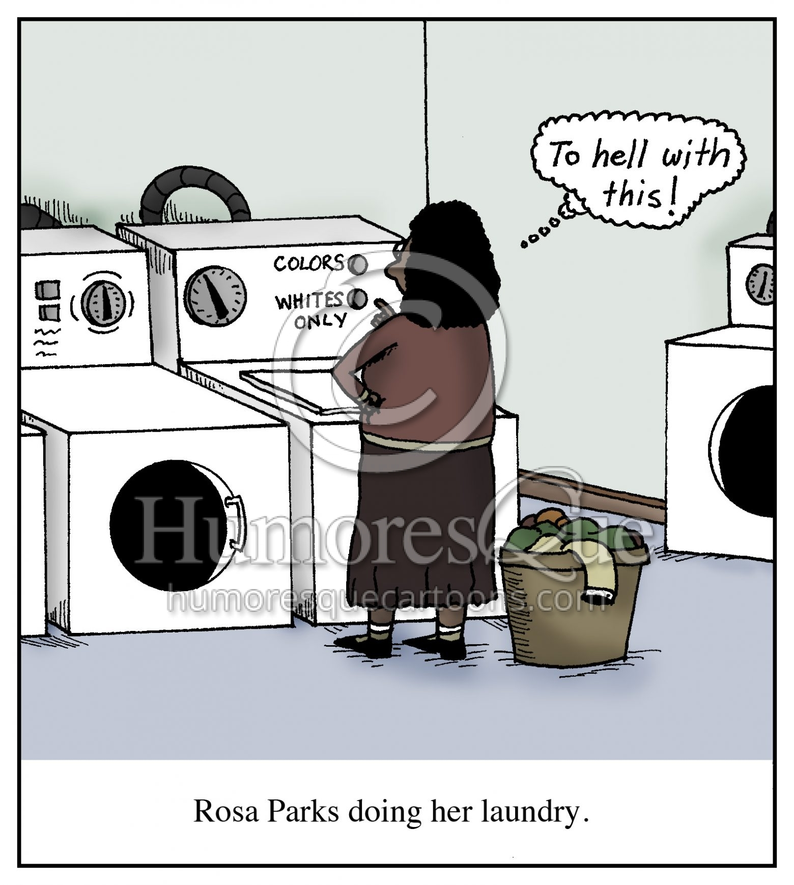 hight resolution of cartoon rosa parks doing her laundry humoresque cartoons