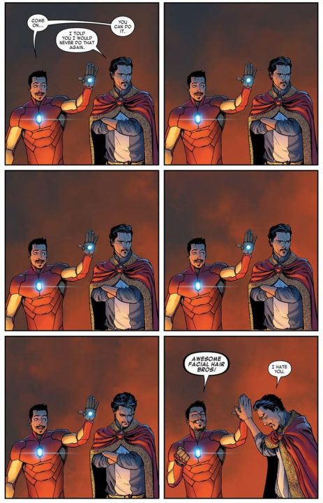marvel-avengers-infinity-war-encuentro-iron-man-doctor-strange-comics-facial-hair-bros2