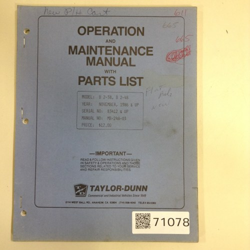 small resolution of full pdf format taylor model c vehicle transport maintenance and post sales support presented utter edition ebook ss steve almond taylor dunn owners manual