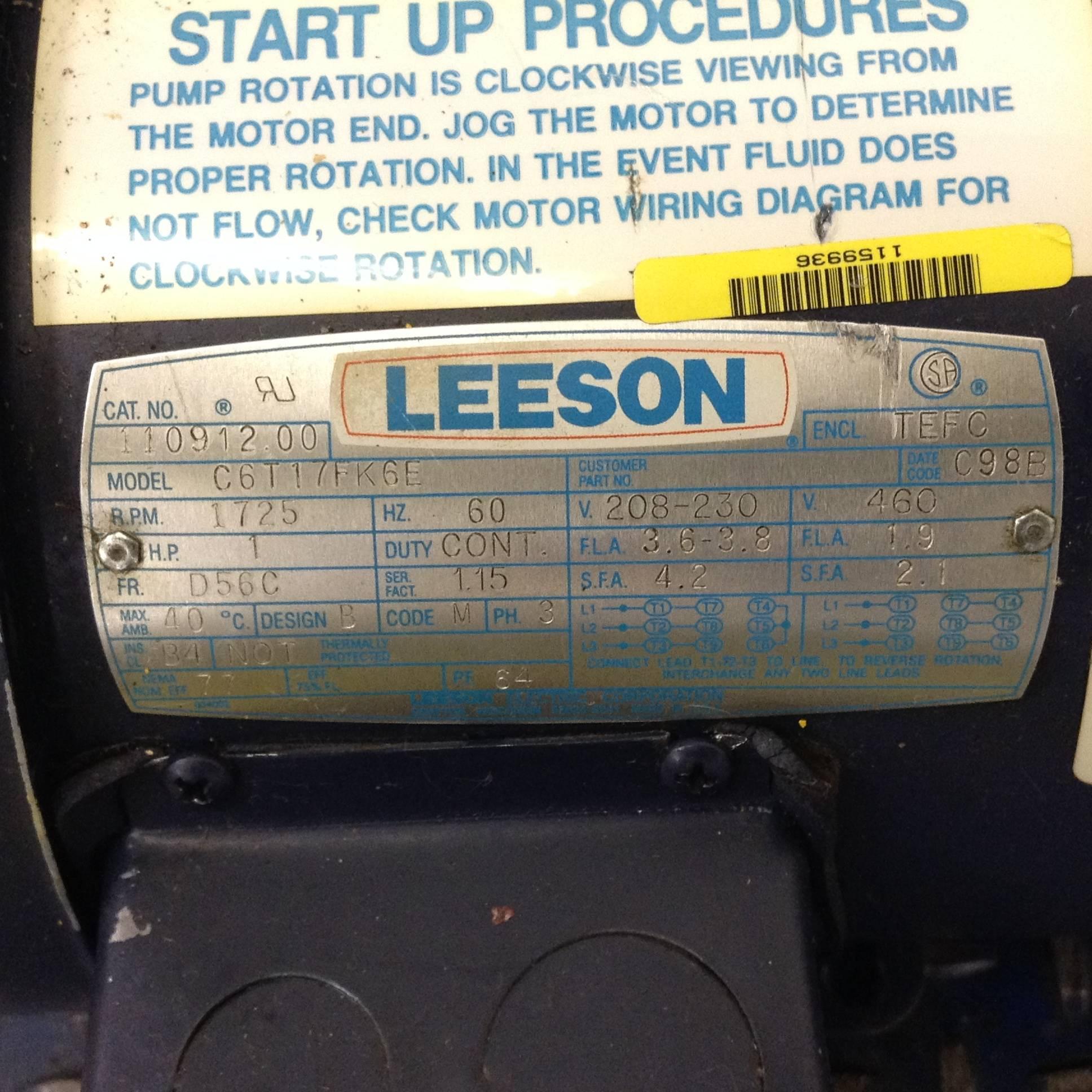hight resolution of  motor clark monarch ccw monarch hydraulic pump wiring diagram monarch hydraulics pump t 16 05 1