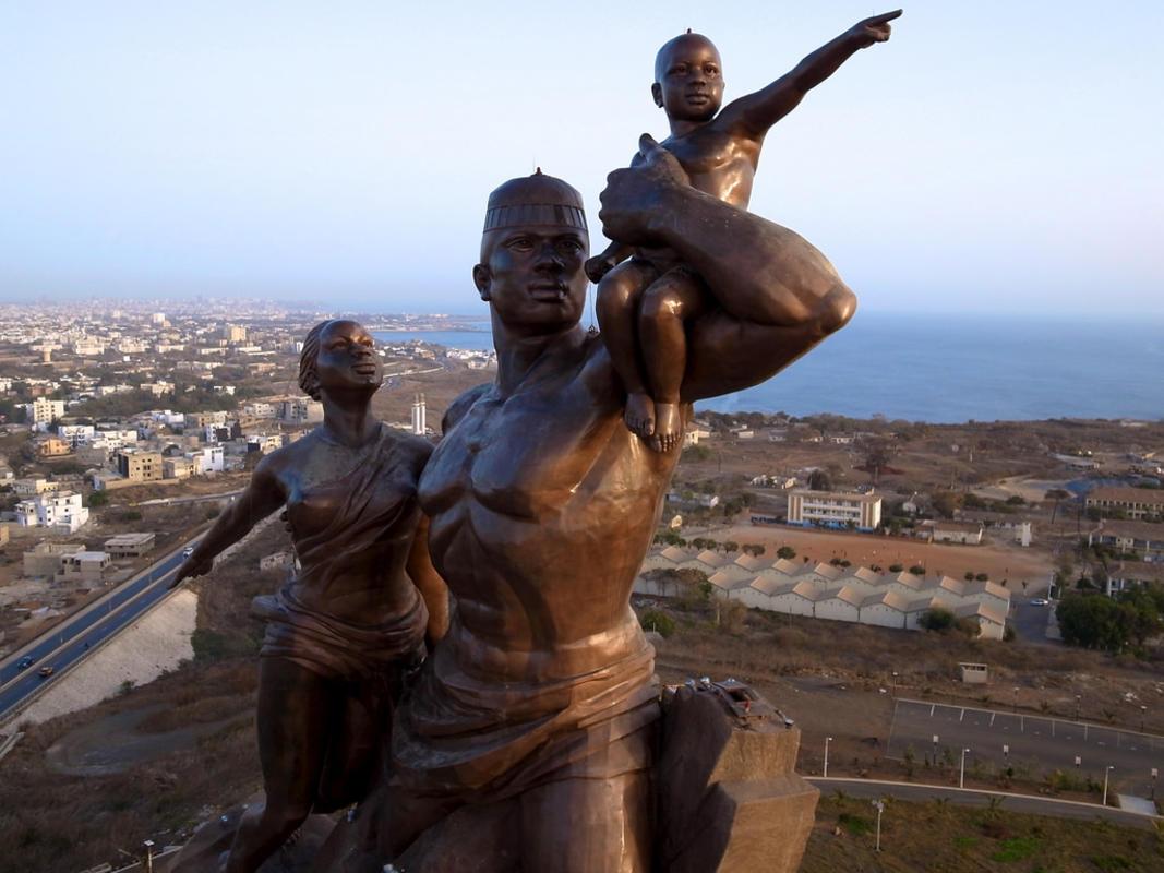 Dakar Senegal African Renaissance Monument