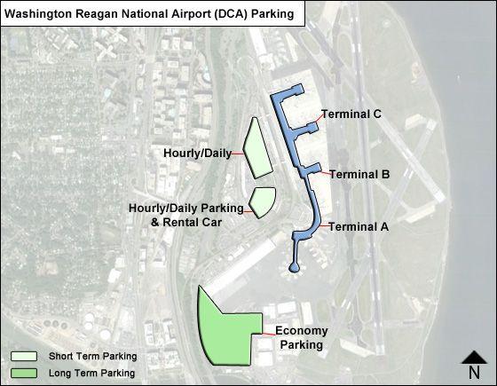 Reagan National Airport Parking DCA Airport Long Term