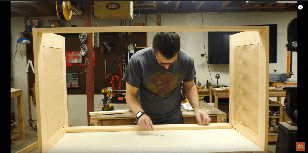 How to Make a Map Cabinet - Assemble the Case