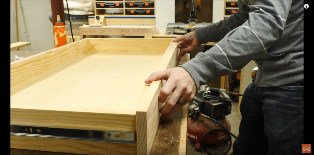How to Make a Map Cabinet - Assemble/Mount the Drawers