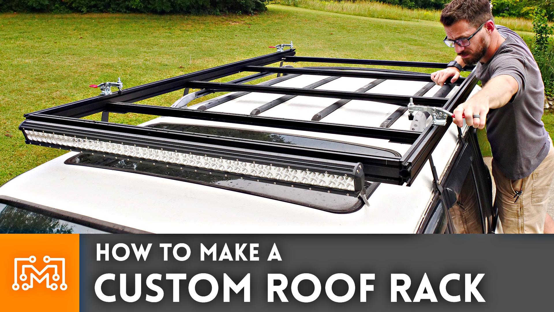 how to make a custom roof rack i like