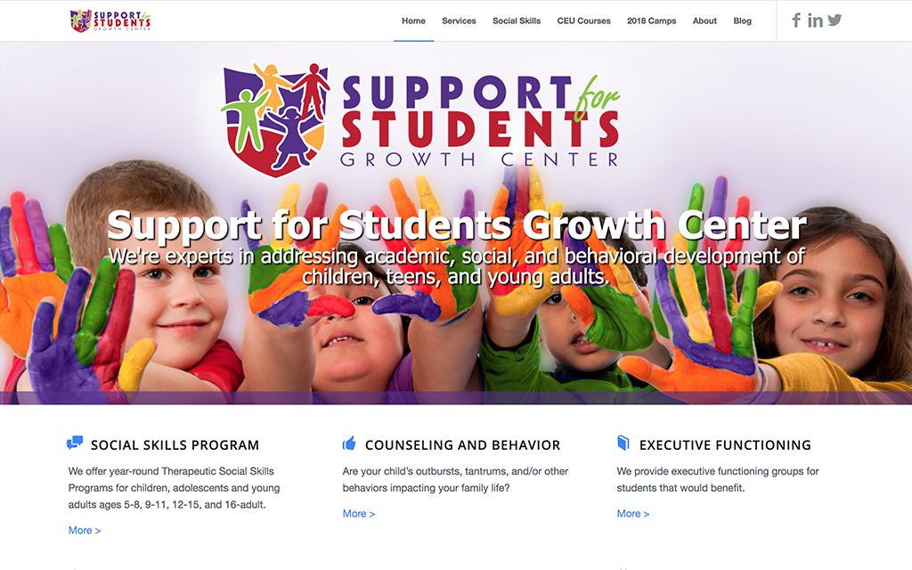 Support for Students Growth