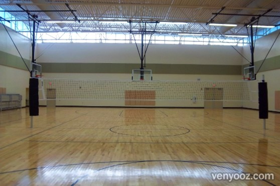 Gymnasium at Marsh Creek Community Center  Raleigh NC