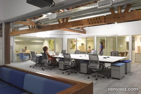 WorkTables at BLANKSPACES coworking space  Los Angeles