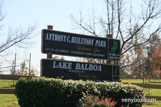BBQ Pits  Picnic Tables at Lake Balboa Park  Van Nuys