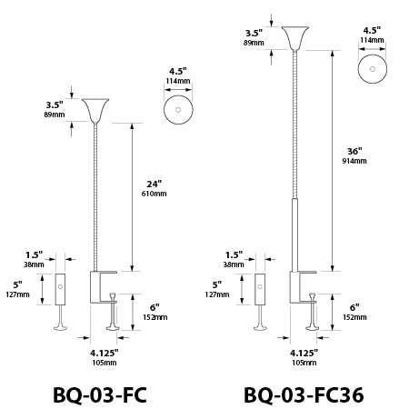 Focus Industries BQ-03-FC Low Voltage Stainless Steel Bell