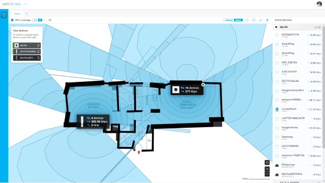 amplifi controller coverage map
