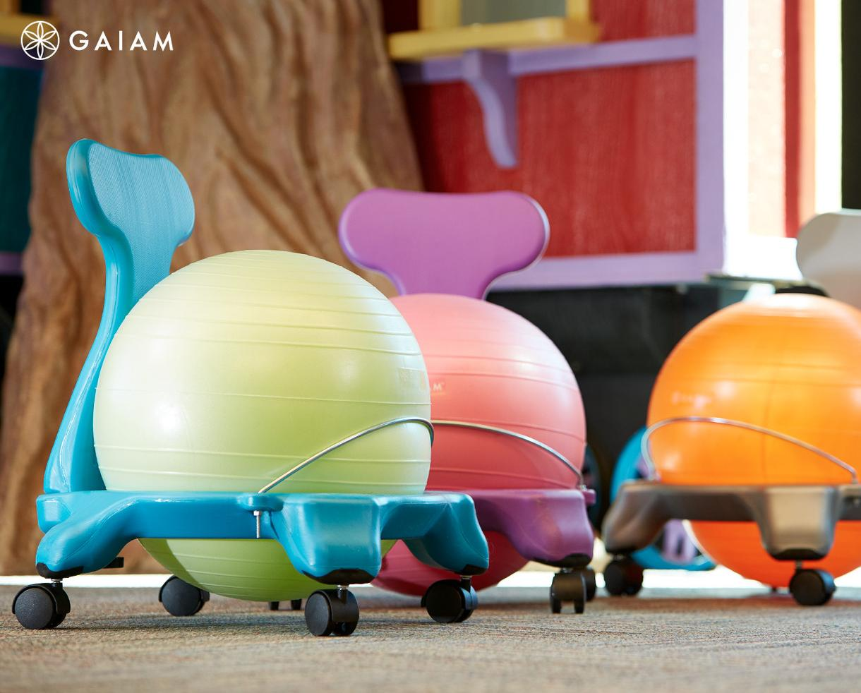 Gaiam Yoga Ball Chair Deal 20 Off Gaiam Yoga Ball Chairs And Select Active