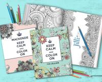 Personalized Coloring Book!   CertifiKID