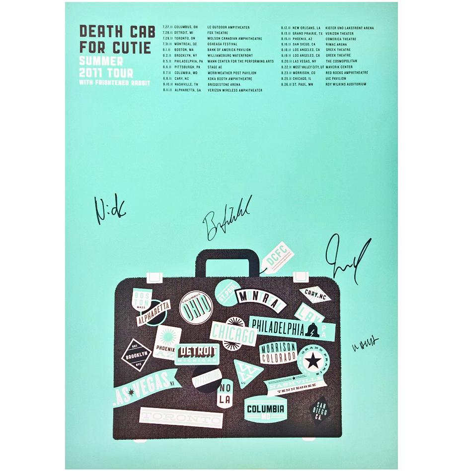 death cab for cutie summer 2011 tour