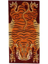 Charitybuzz: Tibetan Tiger Rug from Ralo Tibet Carpets ...